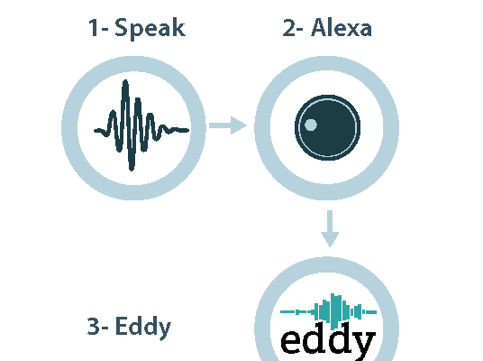 How Does Eddy Work with Alexa?